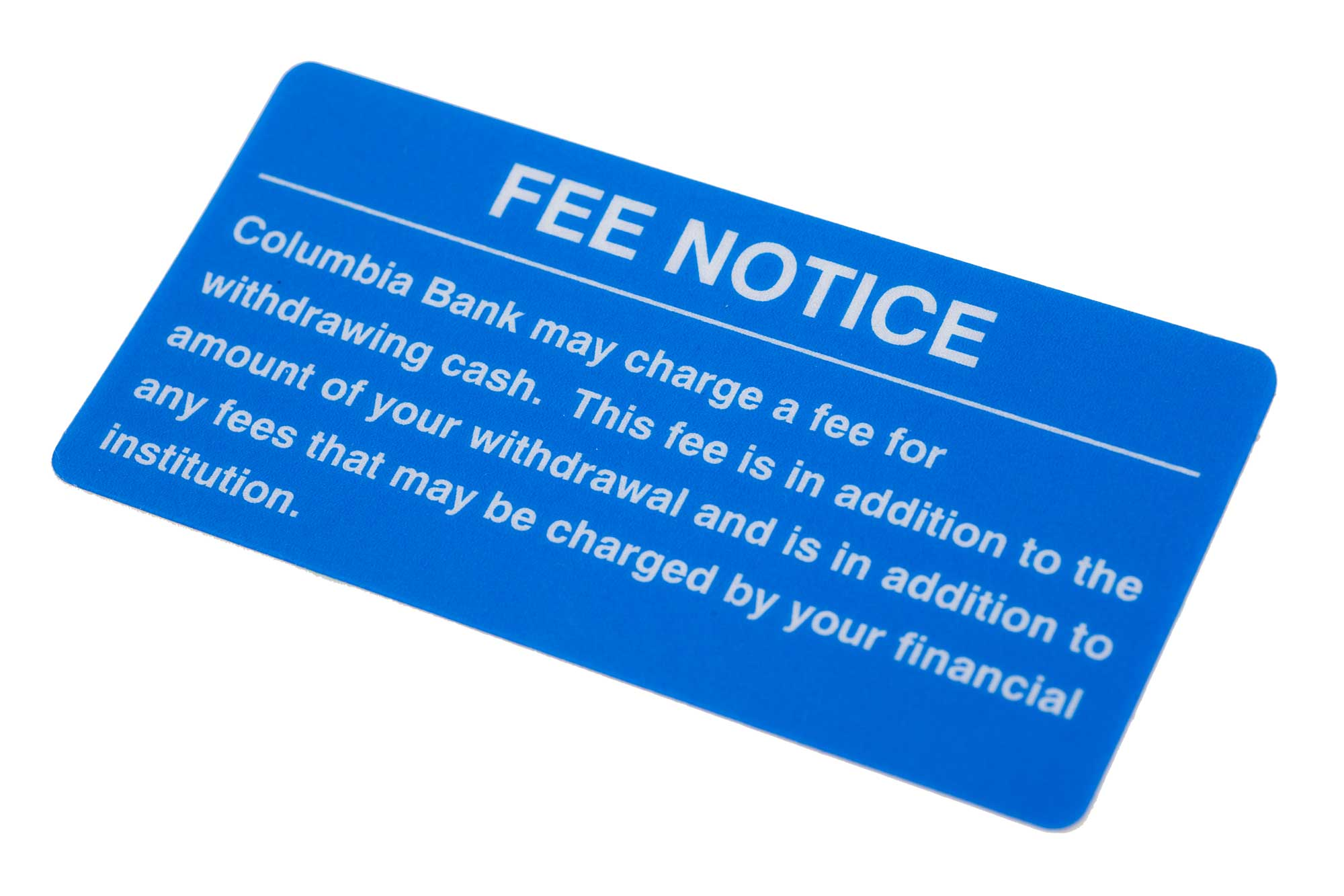 Decal-Bank-Fee-Notice-rectangle-blue